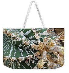 Monk's Hood Cactus Weekender Tote Bag