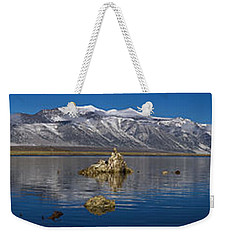 Mono Lake Pano Weekender Tote Bag by Wes and Dotty Weber