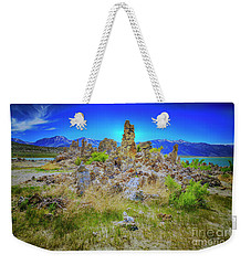 Weekender Tote Bag featuring the photograph Mono Lake, South Tufa's by Craig J Satterlee