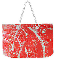 Mono Print 001 - Rotation Weekender Tote Bag
