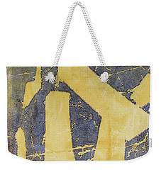 Mono Print 005 - Broken Steps Weekender Tote Bag