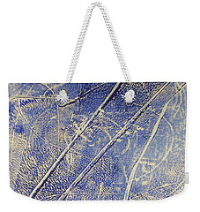 Mono Print 007 -   Panda Ate All The Bamboo Leaves Weekender Tote Bag