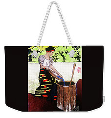 Monobo Chores Weekender Tote Bag by Roberto Prusso