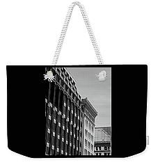 Monotone Reflections Weekender Tote Bag
