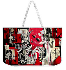 Monroe And Bardot Collage Weekender Tote Bag