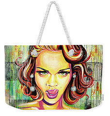 Monroe Gone Bad Weekender Tote Bag
