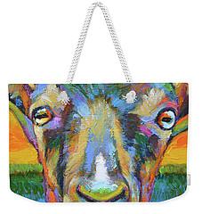 Monsieur Goat Weekender Tote Bag