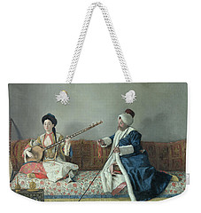 Monsieur Levett And Mademoiselle Helene Glavany In Turkish Costumes Weekender Tote Bag
