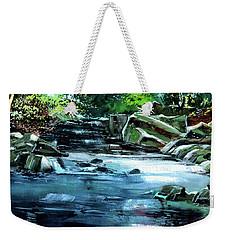 Monsoon Weekender Tote Bag by Anil Nene