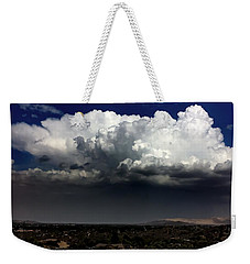 Weekender Tote Bag featuring the photograph Monsoon by Chris Tarpening
