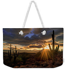 Monsoon Sunburst Weekender Tote Bag