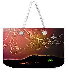 Monster Lightning By Michael Tidwell Weekender Tote Bag