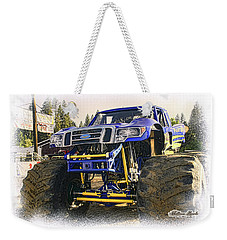 Monster Truck At The Fair Weekender Tote Bag
