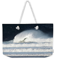Weekender Tote Bag featuring the photograph Monster Wave by Nicholas Burningham