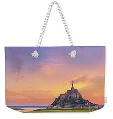 Mont-saint-michel At Dawn Weekender Tote Bag