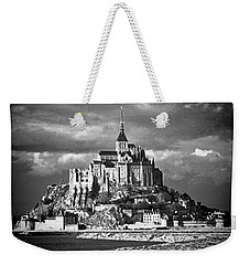 Weekender Tote Bag featuring the photograph Mont Saint Michel by Elf Evans