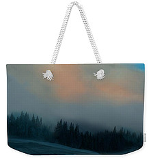 Weekender Tote Bag featuring the photograph Mont Tremblant Vista by Jim Vance