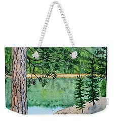 Montana - Lake Como Weekender Tote Bag