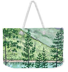 Montana - Lake Como Series Weekender Tote Bag