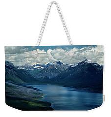 Montana Mountain Vista And Lake Weekender Tote Bag