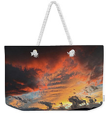 Montana October Sunset Weekender Tote Bag