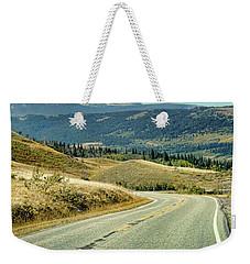 Montana Road Weekender Tote Bag by Jill Battaglia