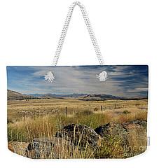 Montana Route 200 Weekender Tote Bag