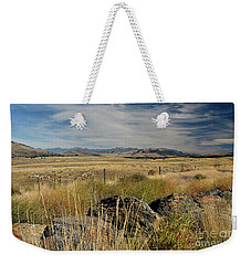 Montana Route 200 Weekender Tote Bag by Cindy Murphy - NightVisions