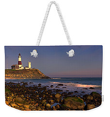 Montauk Lighthouse Weekender Tote Bag
