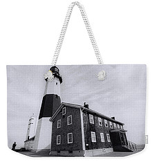 Montauk Lighthouse Weekender Tote Bag