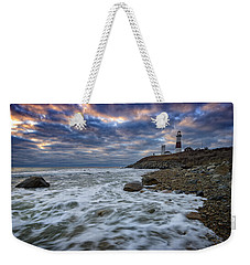 Montauk Morning Weekender Tote Bag by Rick Berk
