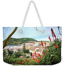 Monte Brasil And Angra Do Heroismo, Terceira Weekender Tote Bag