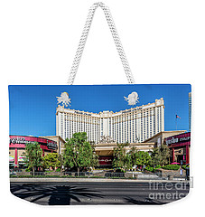 Monte Carlo Casino Las Vegas 2 To 1 Ratio Weekender Tote Bag by Aloha Art