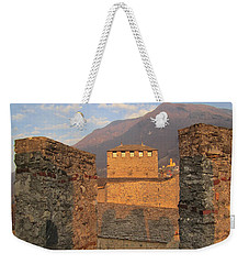 Montebello - Bellinzona, Switzerland Weekender Tote Bag