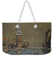 Montelbaanstoren Amsterdam Weekender Tote Bag