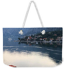 Montenegro Bay Of Kotor Weekender Tote Bag