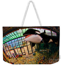 Monterey Bay Aquarium Killer Whale Weekender Tote Bag