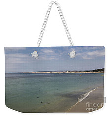 Weekender Tote Bag featuring the photograph Monterey Bay by Suzanne Luft