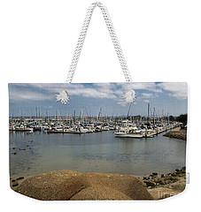 Monterey Harbor Weekender Tote Bag