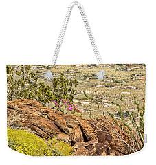 Montezuma Rd Cliff Side Flower Garden Weekender Tote Bag