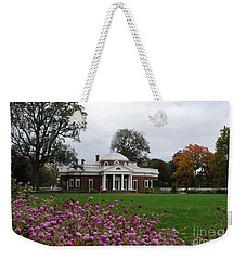 Weekender Tote Bag featuring the photograph Monticello by Eric Liller