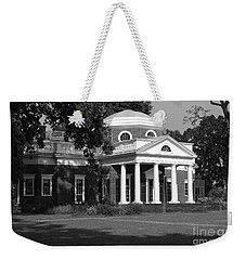 Weekender Tote Bag featuring the photograph Monticello IIi by Eric Liller