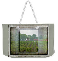 Weekender Tote Bag featuring the photograph Montinore Winery by Jeffrey Jensen