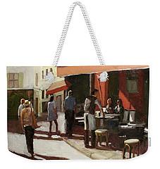 Montmarte Cafe Weekender Tote Bag