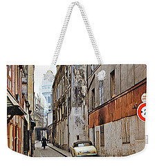 Weekender Tote Bag featuring the photograph Montmartre - Titled by Chuck Staley