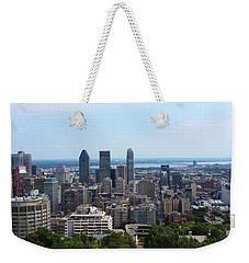 Montreal Cityscape Weekender Tote Bag