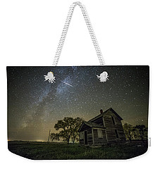 Weekender Tote Bag featuring the photograph Montrose Orionid by Aaron J Groen