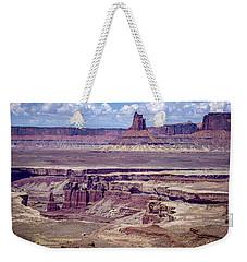 Monument Basin, Canyonlands Weekender Tote Bag