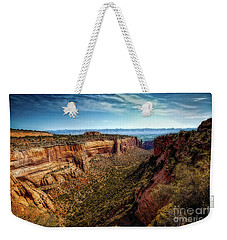 Monument Canyon And Saddlehorn Weekender Tote Bag