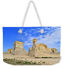 Monument Rocks In Kansas 2 Weekender Tote Bag